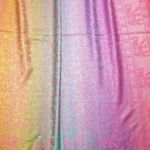 Großer Pashmina Schal mit Elefanten Muster