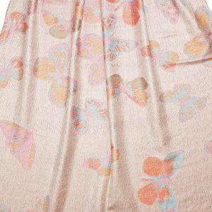 Pashmina Schal mit Schmetterlingsmuster