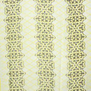 Tuch Orlanda weiß-gelb